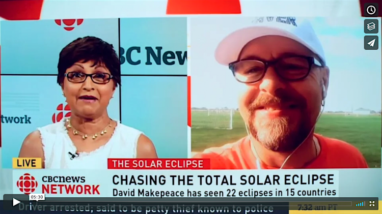 eclipseguy interview on CBC