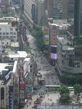 chi high city street