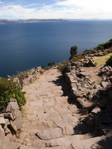 taquile steps