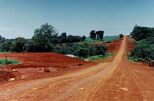 brazil dirt road