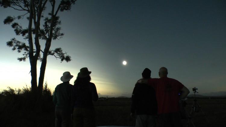 Australia Eclipse Raw Video