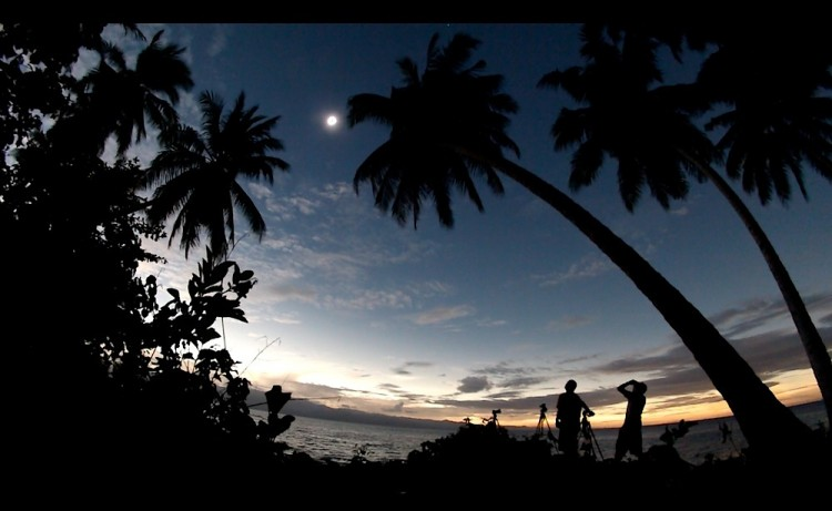 Eclipse Chasing in Indonesia Right Now!