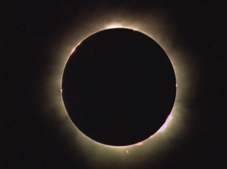 Totality in Turkey 1999